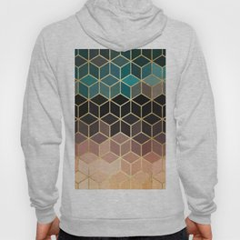 Colorful and golden pattern II Hoody