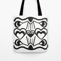 gatsby Tote Bags featuring Gatsby Romance by AniNers