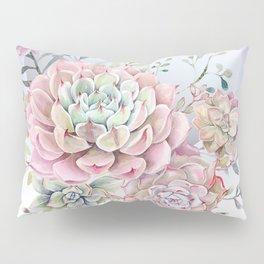 succulent full moon 5 Pillow Sham