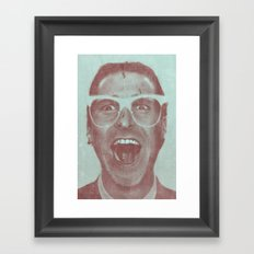 Patrick Bateman - The Hipster (Feat. Marta Macedo) Framed Art Print