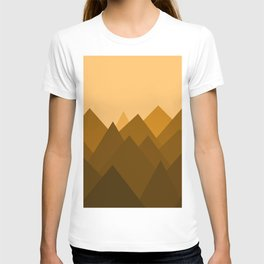 Abstract Sand Dunes T-shirt