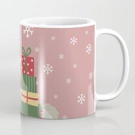 Cute Christmas Llama Coffee Mug