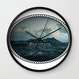 Dreamers Wall Clock