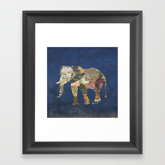 Elephant - The Memories of an Elephant Framed Art Print