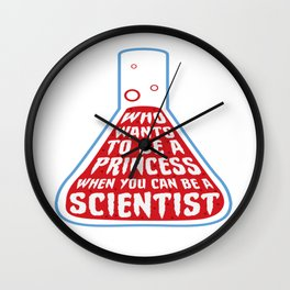 Funny Quote Chemistry Science Teacher Student Gift Wall Clock