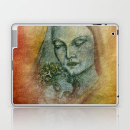 the mother and her child Laptop & iPad Skin