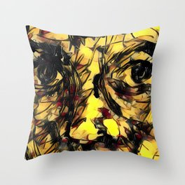 Solemn Throw Pillow