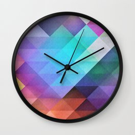 Pattern 12 Wall Clock