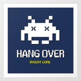 HANG OVER - Insert Cure Art Print