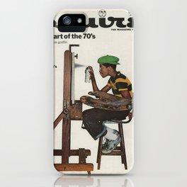 ESQUIRE 1974 iPhone Case