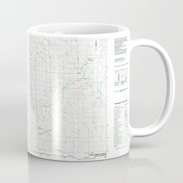 ND Elgin 285422 1980 topographic map Coffee Mug