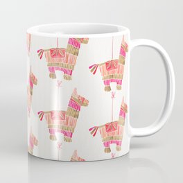 Mexican Donkey Piñata – Pink & Rose Gold Palette Coffee Mug
