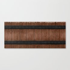 Wooden Canvas Print