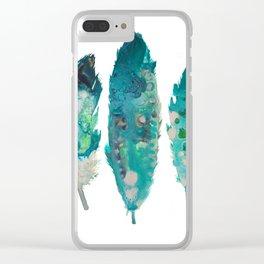 Boho Feathers print, Printable art, Printable Feathers, Wall art, Woodland Printable, Kids Room Art, Clear iPhone Case