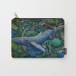 Whale Ocean Carry-All Pouch