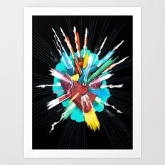I love you thiiiiis much Art Print