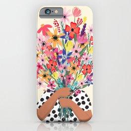 Foral Bouquet iPhone Case