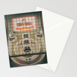 Skee Ball Game Stationery Cards