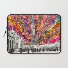 Vintage Paris Laptop Sleeve