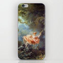 Jean-Honoré Fragonard - The Swing iPhone Skin
