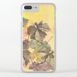 ...among the leaves,  the dew  of old devotions. ' Clear iPhone Case