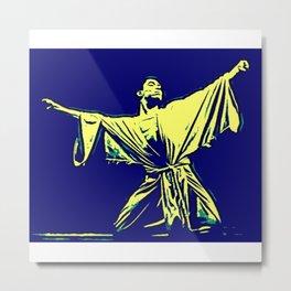 Alvin Ailey - African-American Dancer Director Choreographer Society6 Art Activist BLM 889 Metal Print