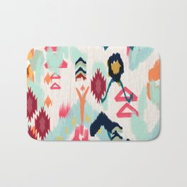 Bohemian Ethnic Painting Bath Mat
