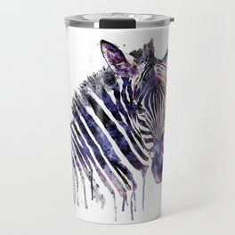 Zebra Head Travel Mug