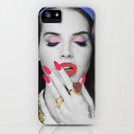 Lana popart iPhone Case