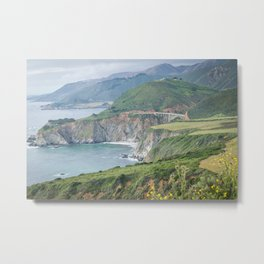 Over Bixby Metal Print