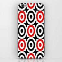 chicago bulls iPhone & iPod Skins featuring Bulls EYE by Sacred Symmetry