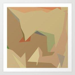Warm Latte (Flavor in art) Art Print