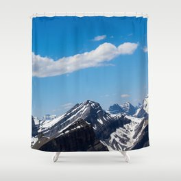 Dreamy Mountain Tops Shower Curtain