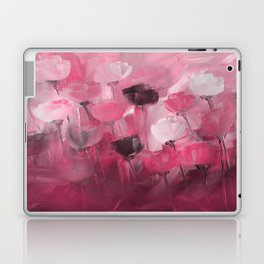 Rose Garden in Shades of Peachy Pink Laptop & iPad Skin