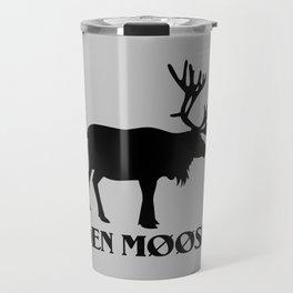 The moose from Scandinavia Travel Mug