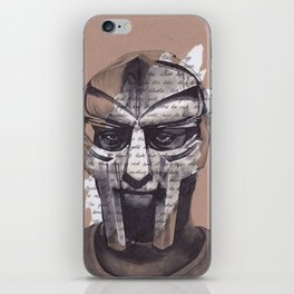 MF DOOM Portrait iPhone Skin