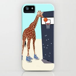 New basketball player in the neighborhood iPhone Case