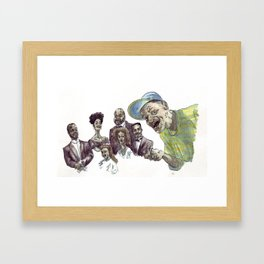 The fresh dead of Bel-Air Framed Art Print