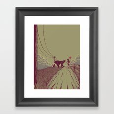 Take Care, Take Care Framed Art Print