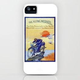 Vintage Merkel Motorcycle Advert iPhone Case