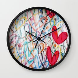 Oodles of Love Wall Clock