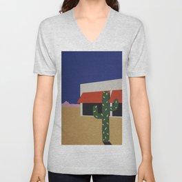 Boutique With Cactus Unisex V-Neck
