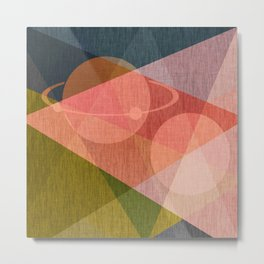 Space , abstract Metal Print