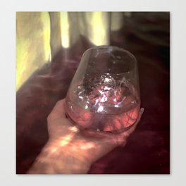 Glass of Woe Canvas Print