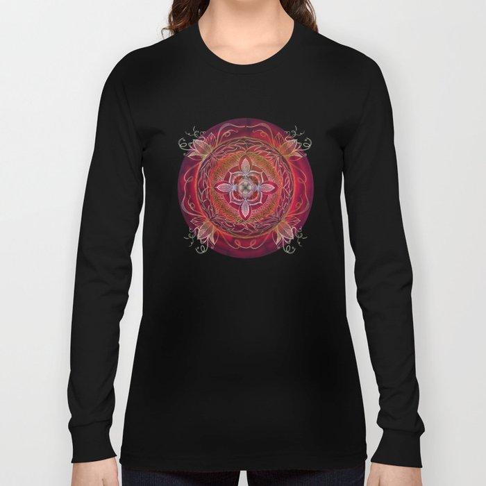 Root Chakra Long Sleeve T-shirt