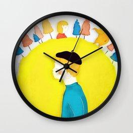 Mors lilla olle Wall Clock