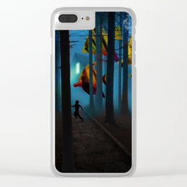 What the Kids Saw (extra) Clear iPhone Case