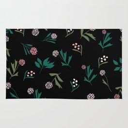 Wild flower pattern Rug