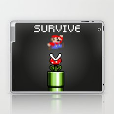 Mario survive Laptop & iPad Skin