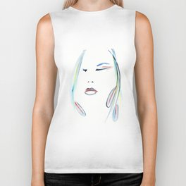with the Shaman ~ Setting Intention Biker Tank